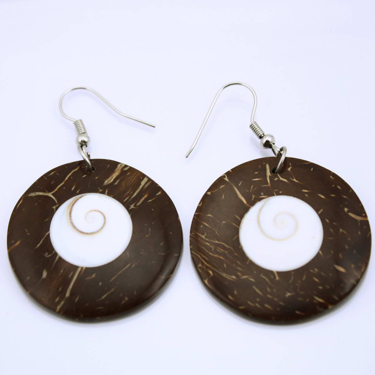 Muschel Ohrringe Schmuck Er161 Auge Design Shiva QCtshrd